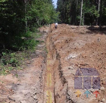 Новое строительство газопровода