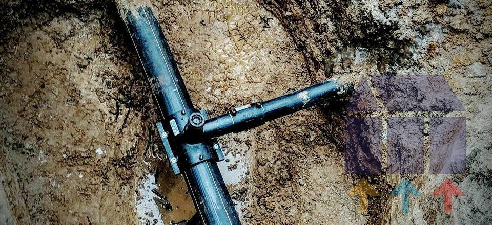 Обеспечили врезку в существующий газопровод