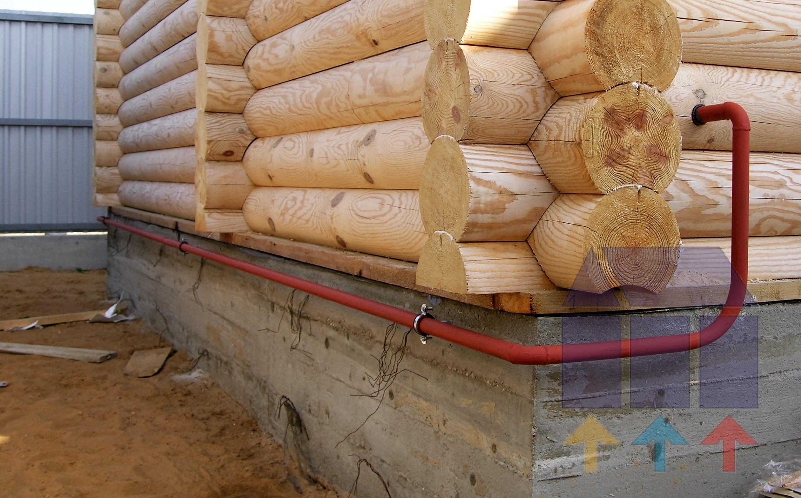газопровод в деревянном доме